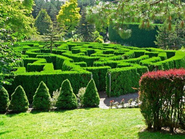 Photo of باغ های اروپایی که پر از آثار هنری هستند