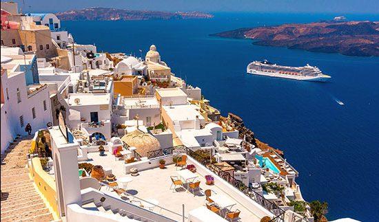 سفر به سانتورینی زیباترین جزیره یونان